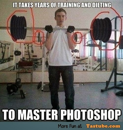 It takes years of training and dieting