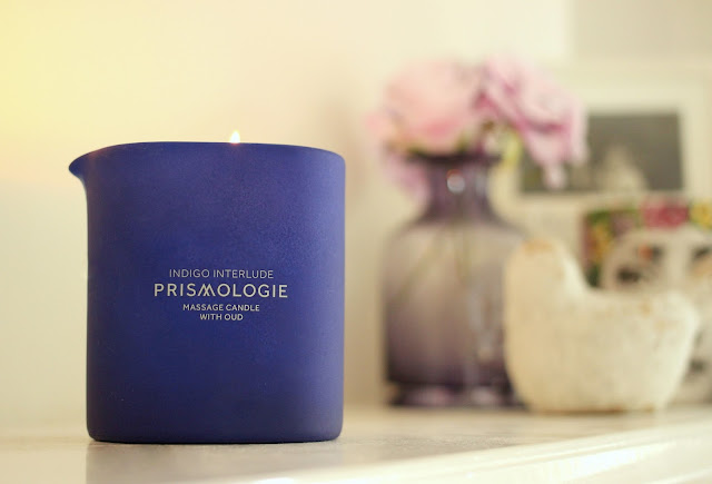 Prismologie Indigo Interlude Massage Candle Review