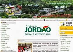 SITE DA PREFEITURA DE JORDÃO