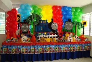Ideas Para tus Fiestas Tematicas: Decoracion Fiesta de Thomas y ...
