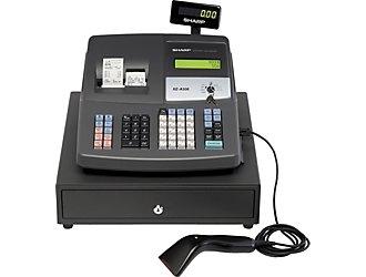 how to use a cashier machine