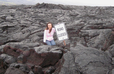 Lava fields of Hawaii
