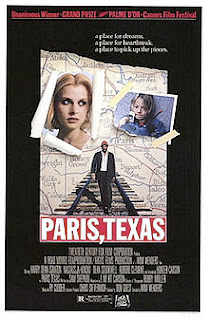 Texas bandnaam idee - Wim Wenders - Paris Texas film
