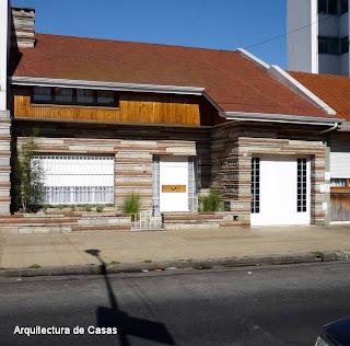 Chalet moderno americano entre medianeras en Buenos Aires