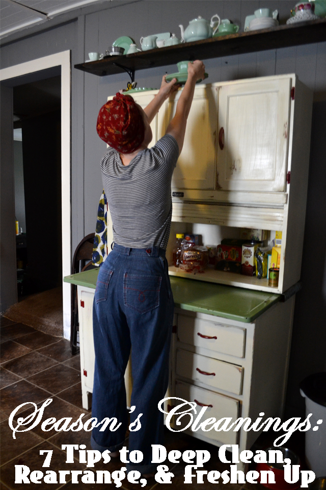 Flashback Summer: Season's Cleanings - 7 Tips to Deep Clean, Rearrange, & Freshen Up