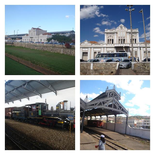 estação de trem em São João del Rei - MG