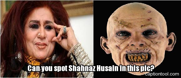 Shahnaz Hussain and a Ghost