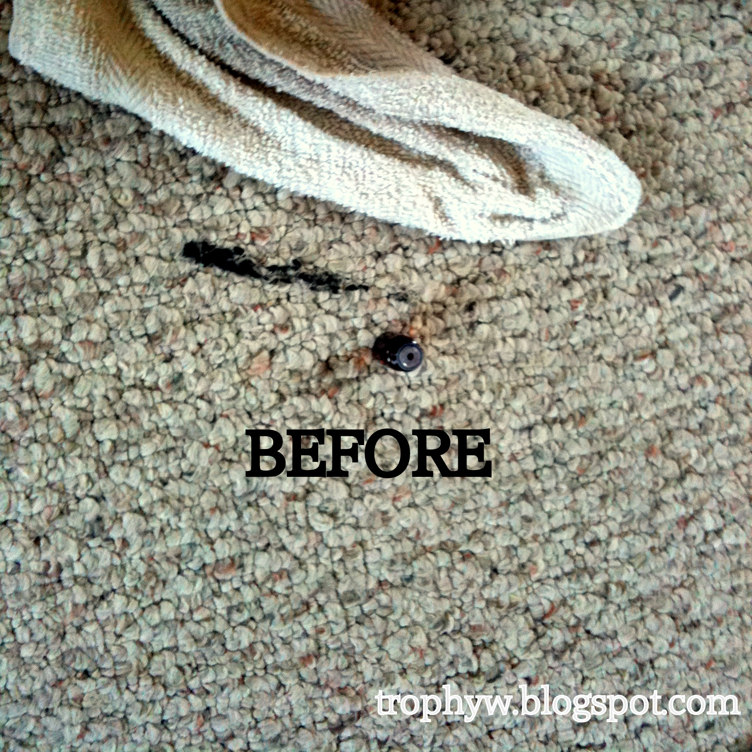 Remove Black Grease From Carpet http://trophyw.blogspot.com/2013/01/how-to-remove-oil-based-paint-from.html
