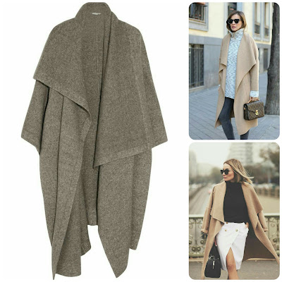 Fall/Winter 2015 Style & Fabric Trends: Blanket Coats. Erica Bunker | DIY Style!