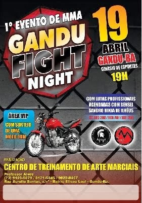 1º GANDU FIGHT NIGHT