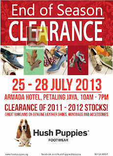 Hush Puppies End Of Season Clearance 2013