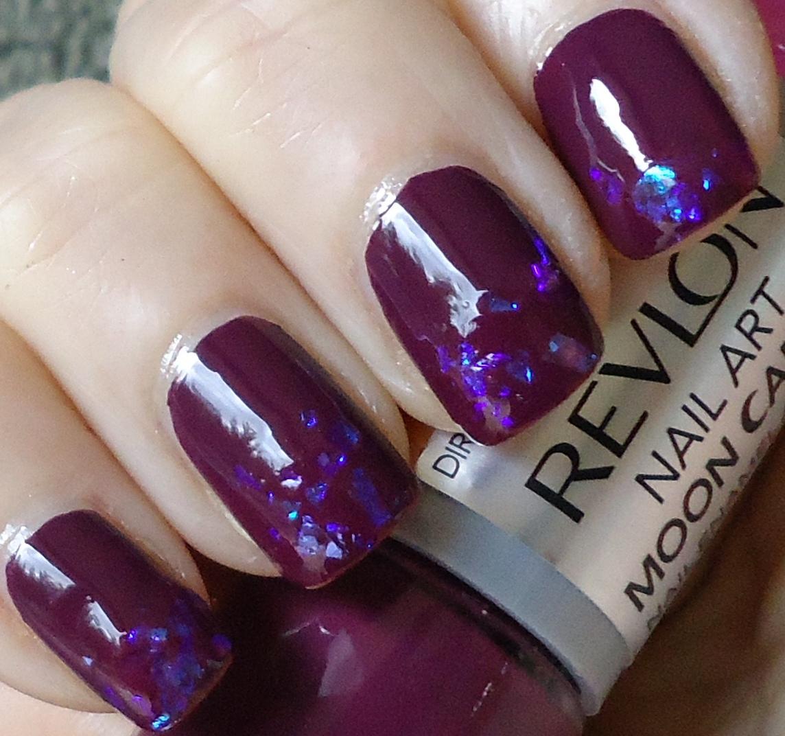 Making Up 4 My Age Revlon Moon Candy Nail Enamel 240 Eclipse