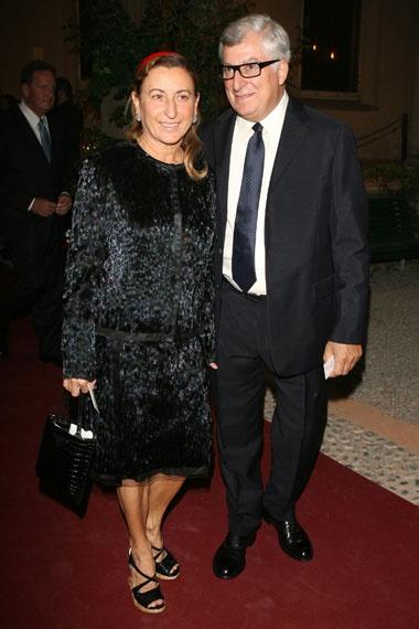 Miuccia Prada Patrizio Bertelli