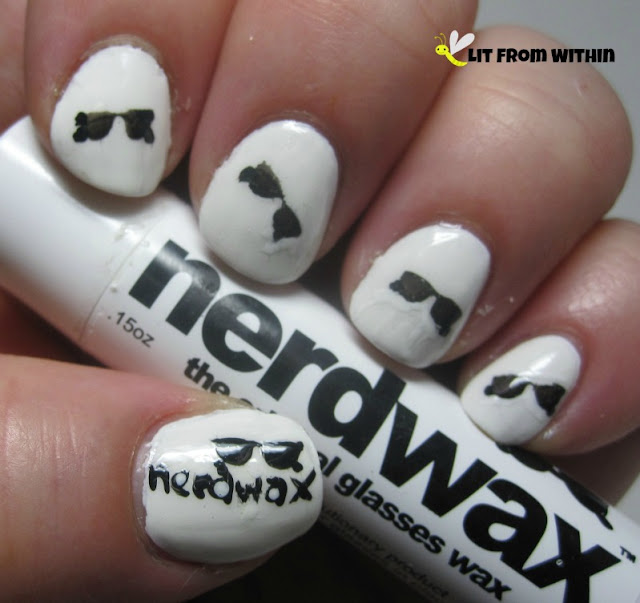 Nerdwax nailart