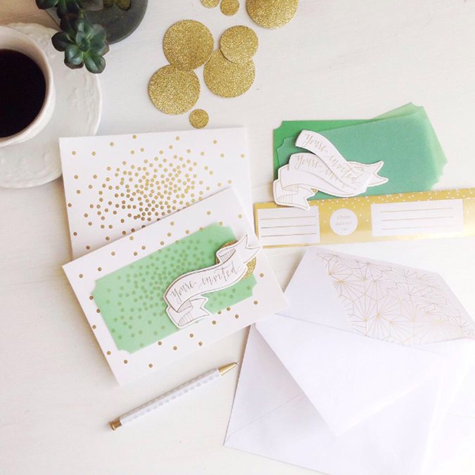 This Kit From Pink Paislee Included Confetti Cards Envelopes And Address Wraps Vellum Chipboard Elements Were Along With Adhesive Pop Dots To