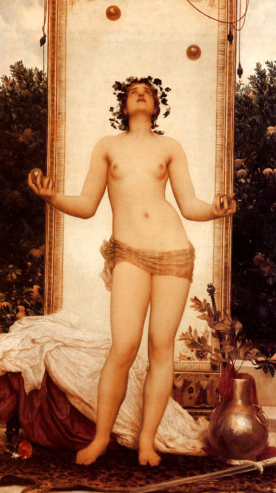 lord frederick leighton juggling girl