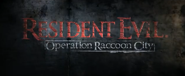 Resident Evil Operation Raccoon City 2012 third-person shooter zombie video game title from Capcom