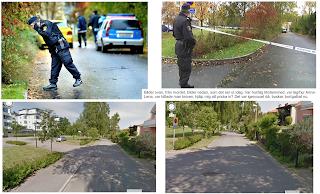 Mordplats dubbelmordet i LInköping 2004
