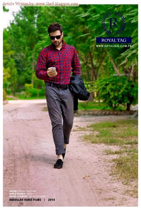 Royal Tag Latest Men Winter Collection 2014