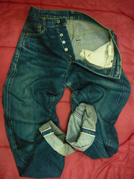 LEVIS 503B big E  selvedge  SOLD!!