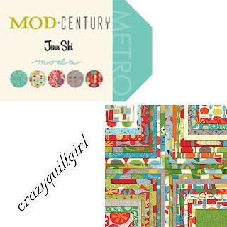 Moda MOD CENTURY Quilt Fabric by Jenn Ski