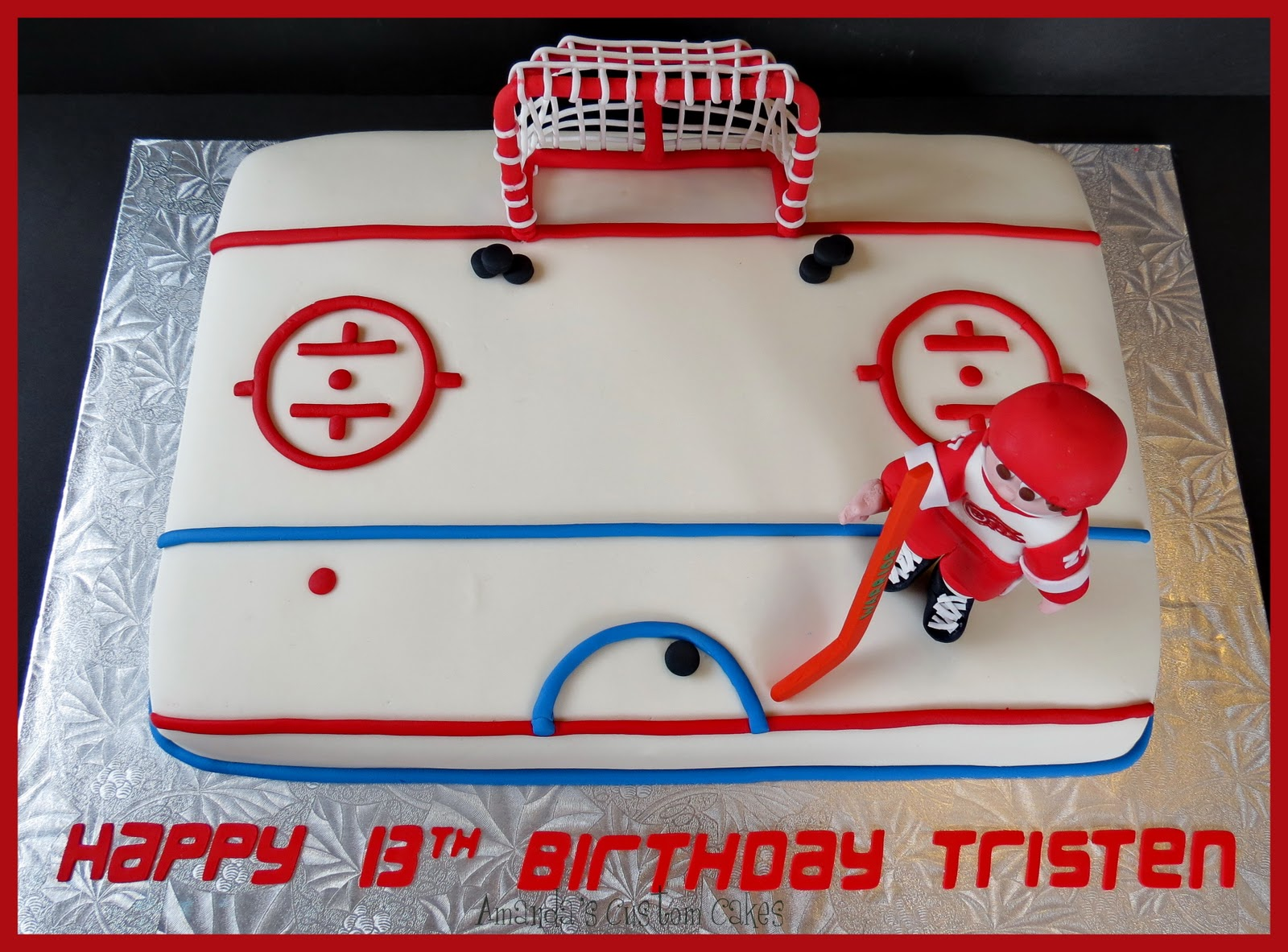 Ice Hockey Figures For Cakes