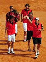 TENIS-España y Argentina acceden a la final de la Copa Davis 2011