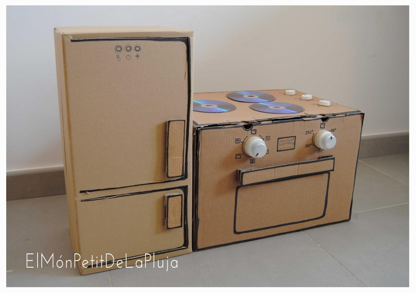 Rocio design diy una cocina con cajas de cart n 2 parte for Como armar mi cocina