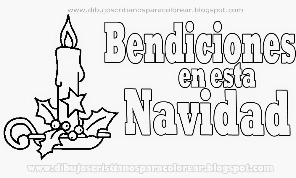 Perfecto Navidad Para Colorear Páginas Cristiano Colección - Páginas ...