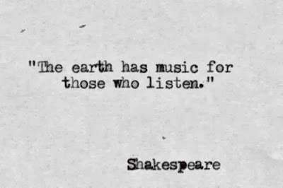 William Shakespeare Quotes about Earth, Music, and People