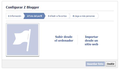 Configuración Página de Facebook