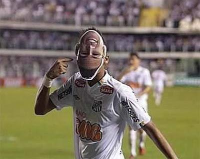Mascara de Neymar