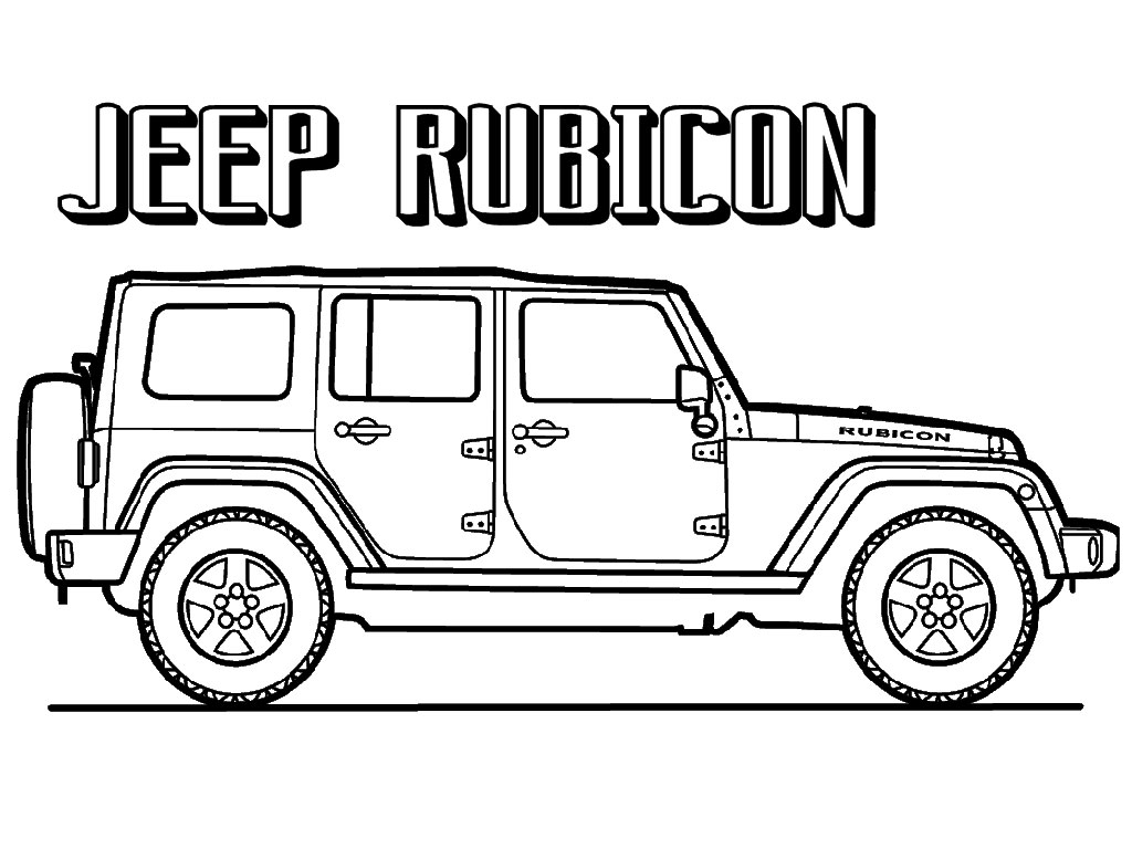Jeep Printable Coloring Pages Jeep Coloring Pages