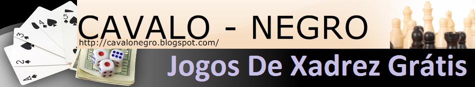 CAVALO - NEGRO ( Jogos De Xadrez Grátis )