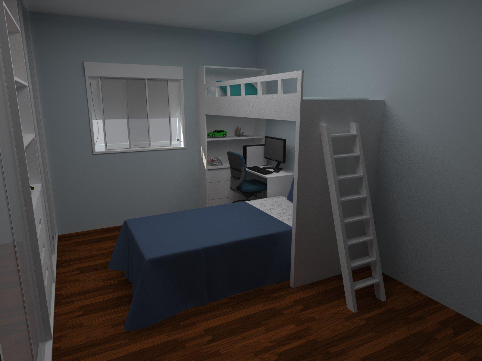 Cristine Berger Design de Interiores: Dormitório para meninos #355A35 1600x1200