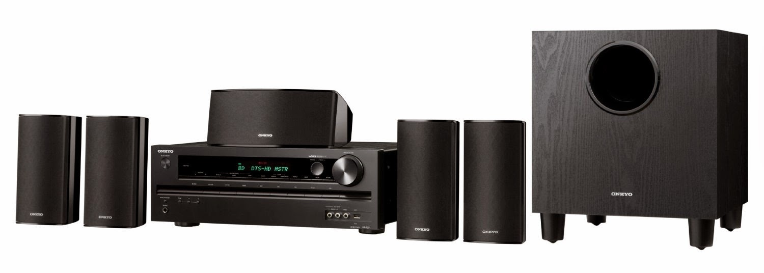 Onkyo HT-S3500 5.1-Channel Home Theater Speaker Receiver Package