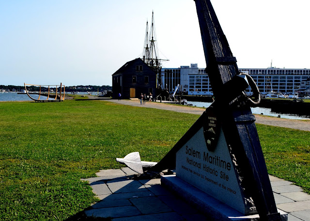 anchor at salem maritime historic site
