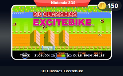 3D Classics Excitebike - Club Nintendo