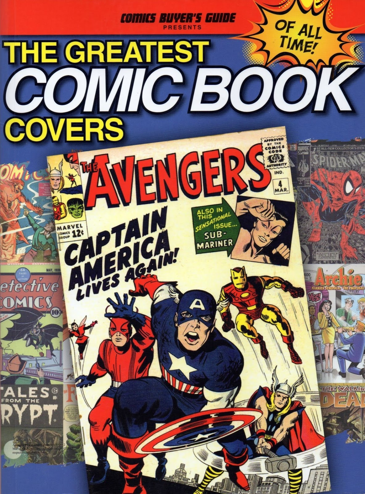 Best Book Covers Of All Time ~ Crivens comics stuff the greatest comic book covers of