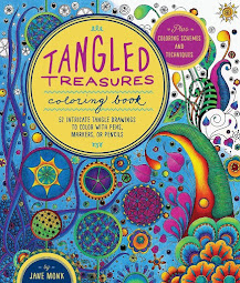 Tangled Treasures Coloring In Book