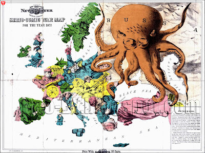 Serio-comic war map for the year 1877