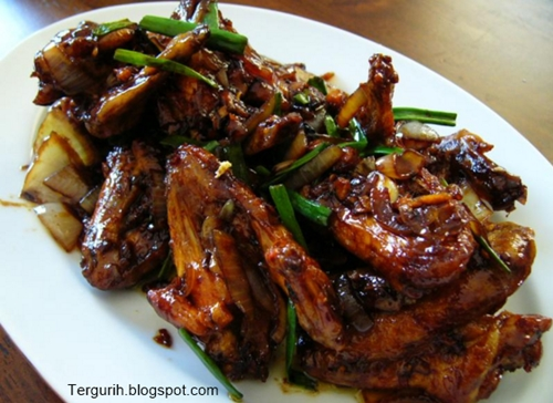 Resep mudah cara membuat Ayam Goreng Kecap
