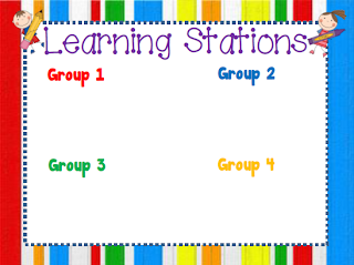 Crisscross Applesauce In First Grade: Learning Stations {A.K.A. ...