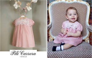 Swedish Princess Leonore in PİLİ CARRERA Dresses