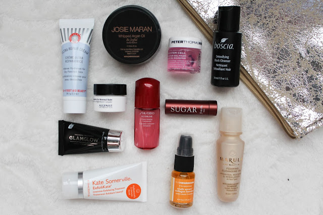 Sephora favorites holiday kit! Elizabeth&James, NARS, urban decay, benefit, boscia, first aid beauty, and more!