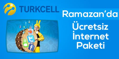 Turkcell Sahurda bedava internet kampanyası