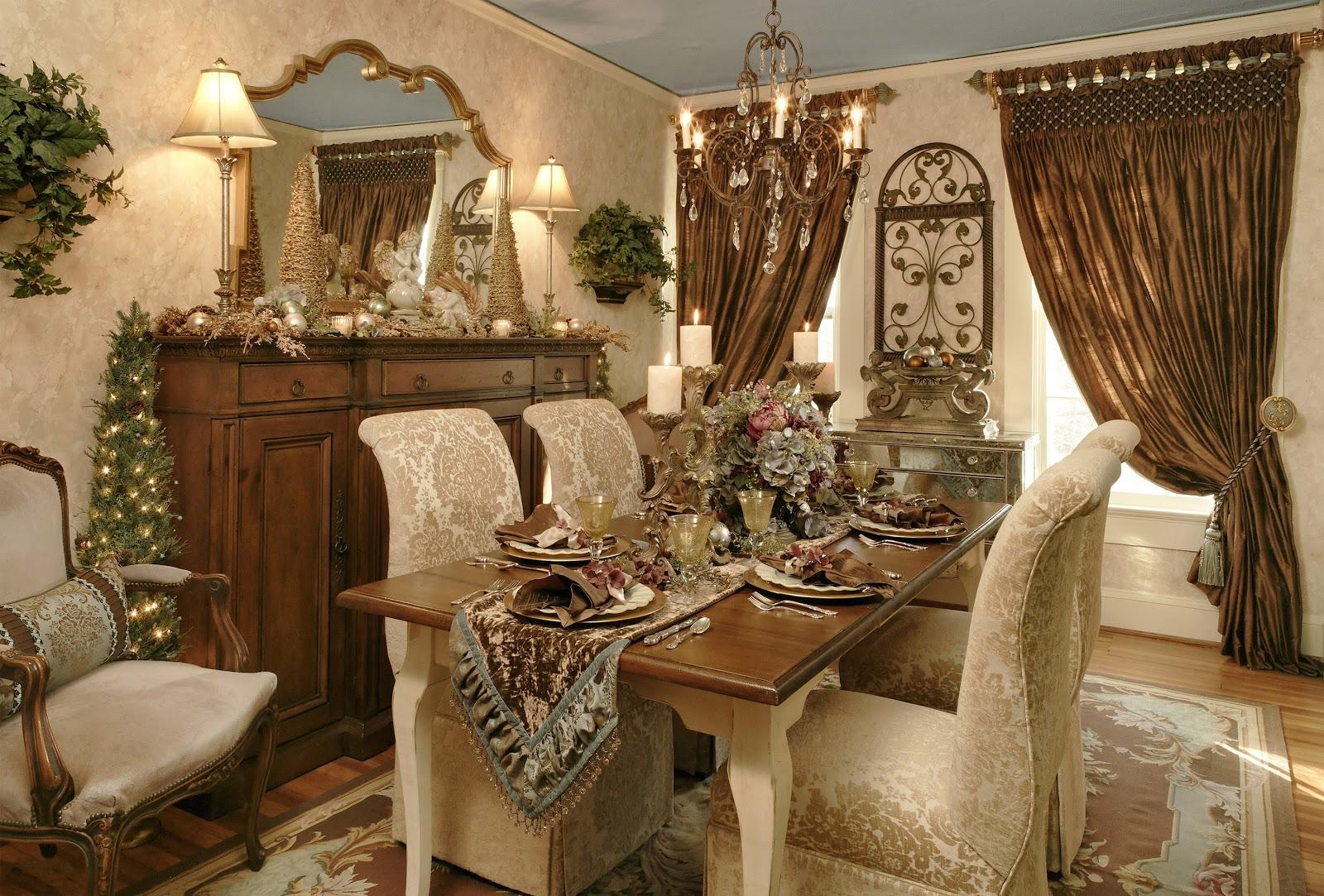 Dining Room Modern Thanksgiving Dinner Table Settings And Full ...