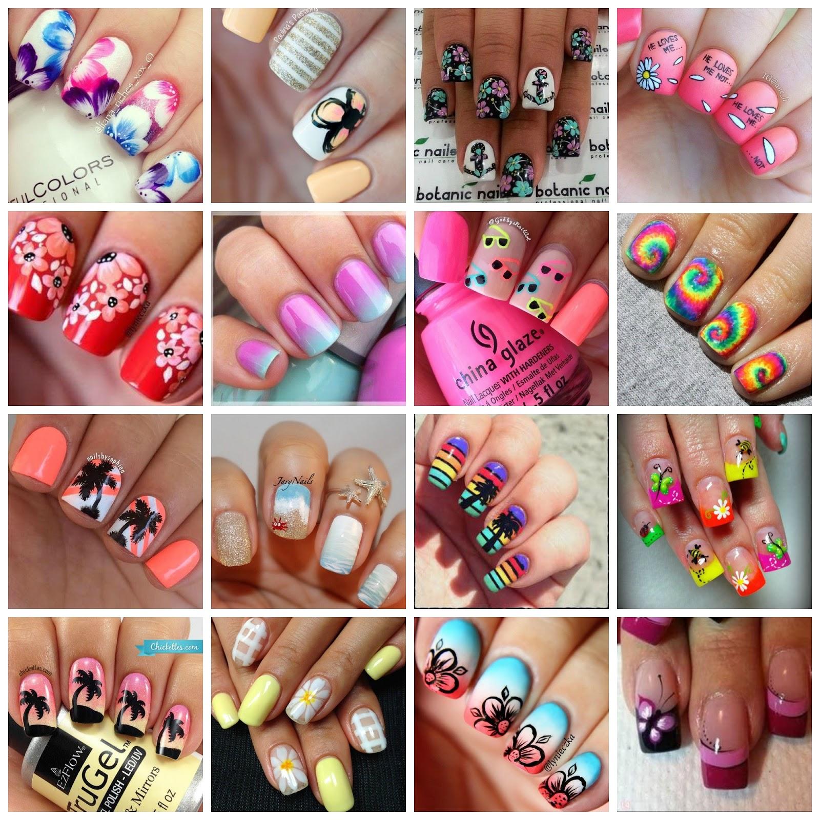 Creativenails4fun: ~Inspiration~ 20 Fantastic Summer Nail arts!