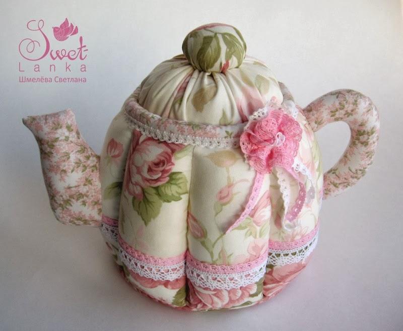 чайник нежной расцветки