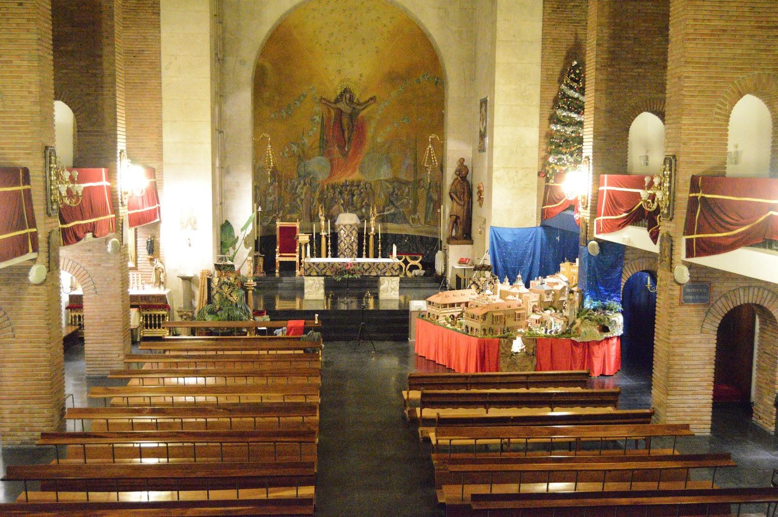 Parroquia san crist bal el bel n de san cristobal - Ciudad pegaso madrid ...